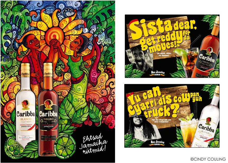 Carriba Rum, Young & Rubicam