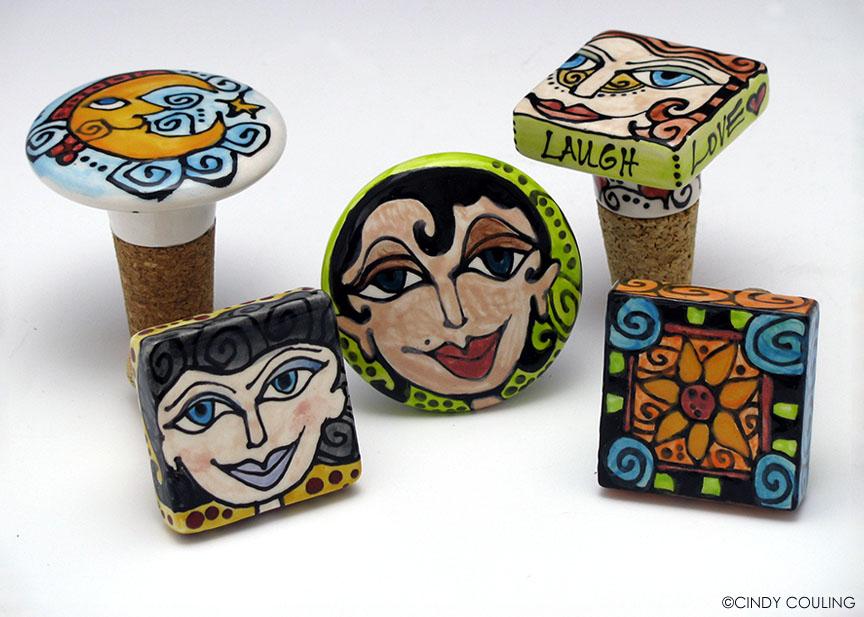 Ceramic Bottle Stoppers
