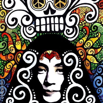 Yoko Ono Illustration