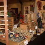 Couling pottery at Art in Clay Show and Sale