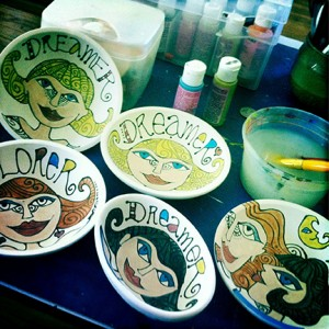 Painting-on-bowls-couling