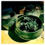 Raku Fired Pottery.