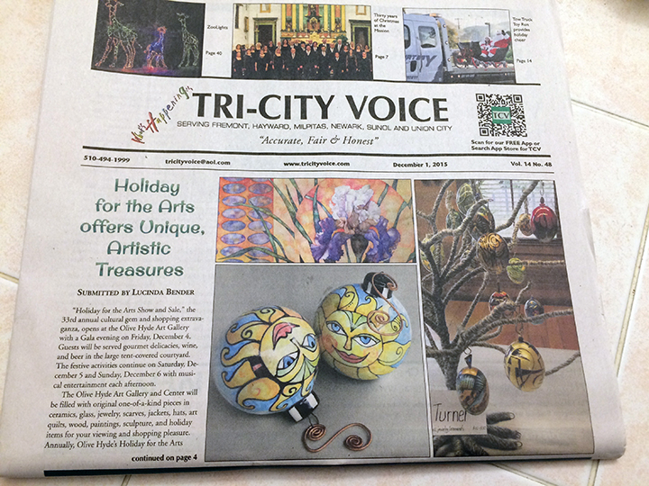 Tri-City Voice Cindy Couling OHAG Cover