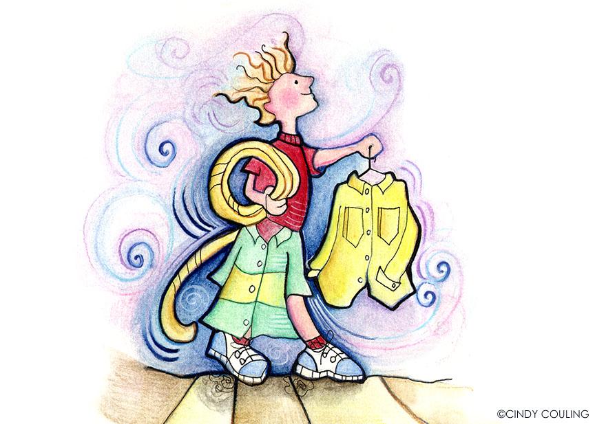 Children's Magic Window, Melvin and the Kite