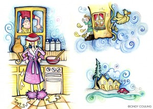 Children's Magic Window Magazine for Kids. Melvin and the Kite.