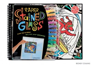 Klutz Press Cover for Paper Stained Glass.