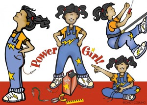 Power Girl, Children's Discovery Museum ©Cindy Couling