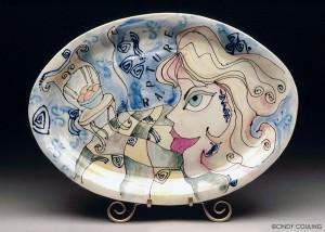 Rapture Ceramic Platter Couling