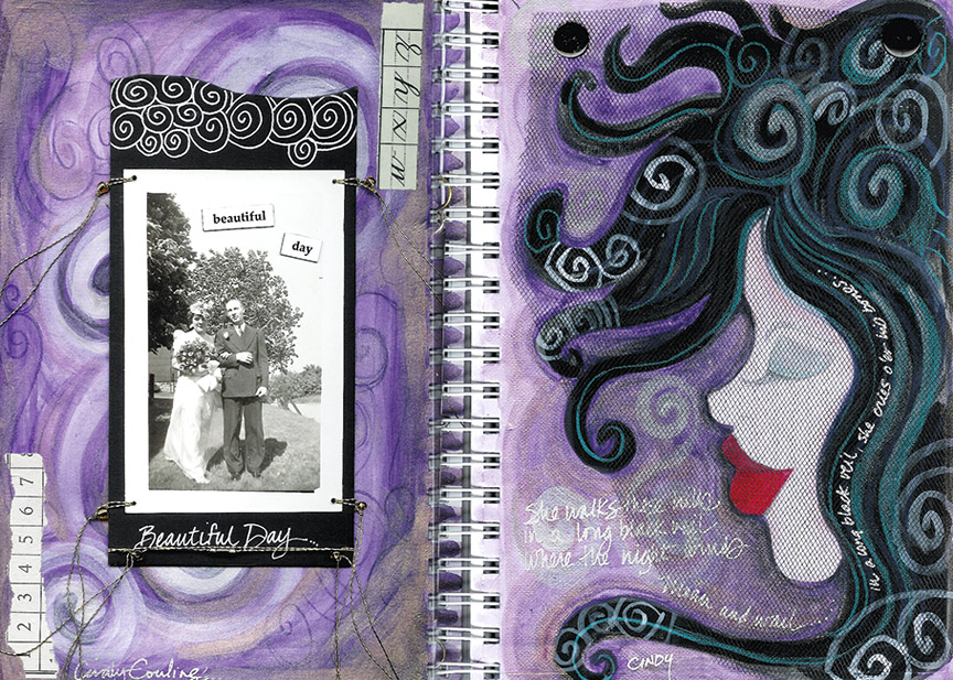 Beautiful Day Journal Spread