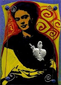 Frida Kahlo Artist Trading Card Couling