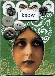 Know_Girl_Face_Couling ATC Collage