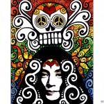 Yoko Ono Illustration Cindy Couling