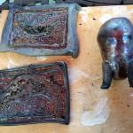 Copper Luster Glazed Tiles