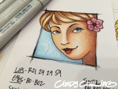 Cindy Couling Copic Markers