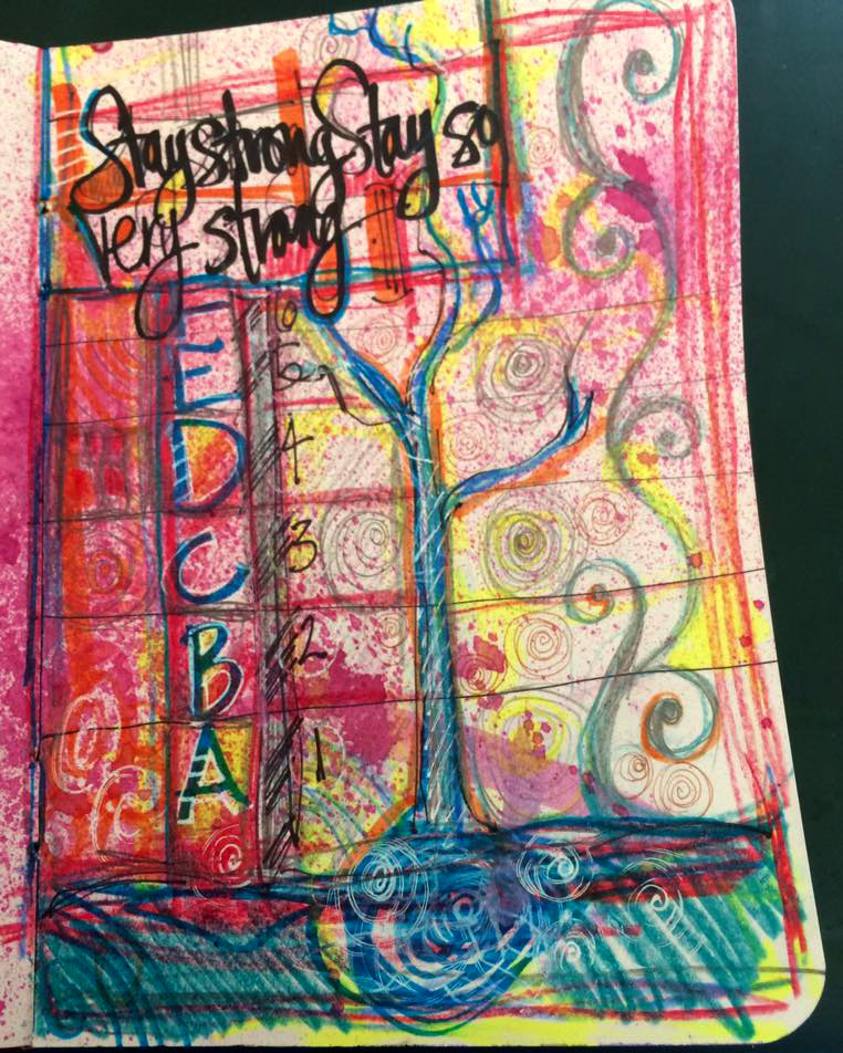 Stay Strong Journal Page