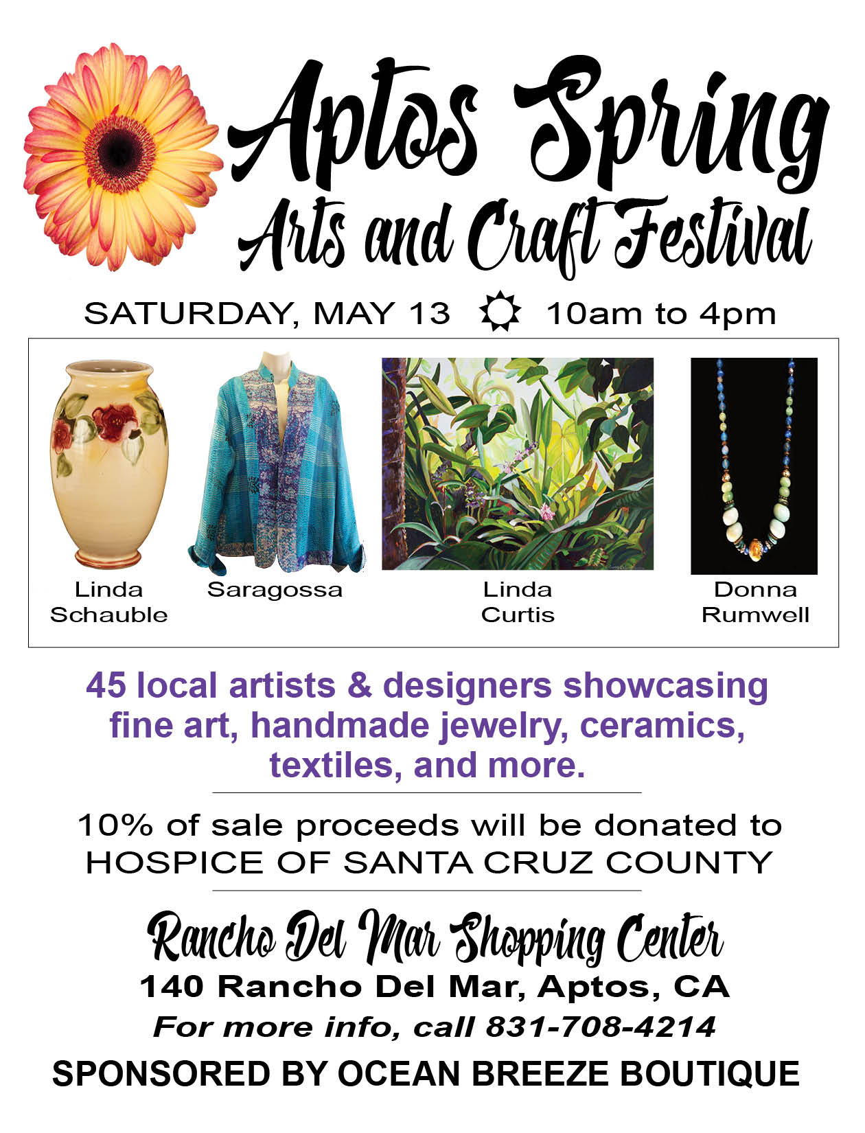 Aptos Spring Arts and Crafts Festival 2017